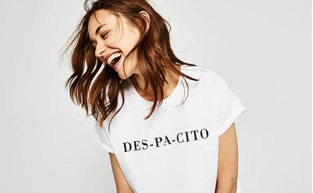 Camiseta 'Despacito'.