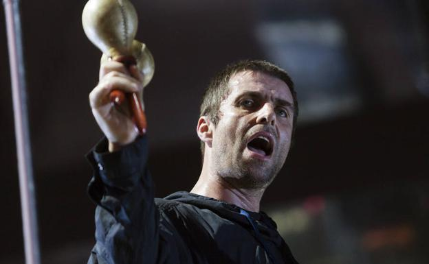 Liam Gallagher, en el FIB 2017./EFE