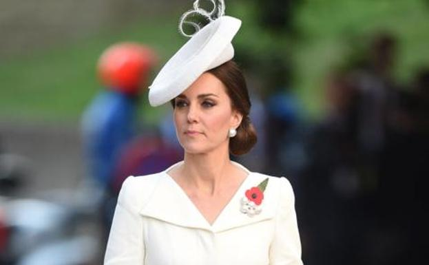 Kate Middleton, con look de Alexander McQueen.