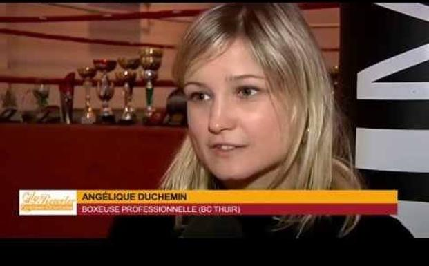 La francesa Angelique Duchemin. /Youtube
