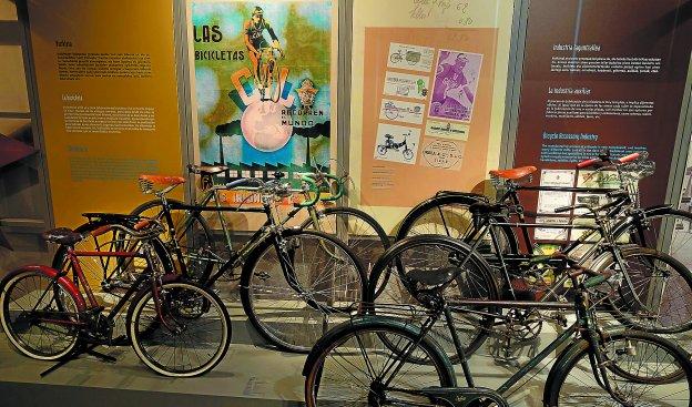 Permanente. El Museo multiplicará la presencia que tienen ahora las bicicletas en la exposición permanente, a partir del 19 de septiembre.
