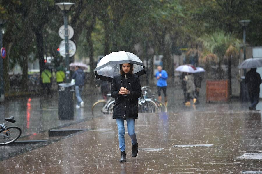 Pronostican un oto o m s c lido y con m s lluvia de lo - Clima en donostia san sebastian ...
