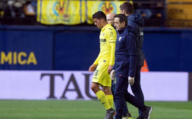 Fornals se retira del Villarreal-Athletic. /Efe