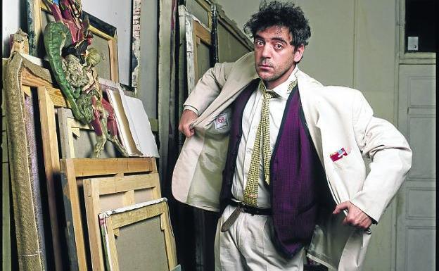 Muere Ceesepe, pintor e ilustrador de La Movida