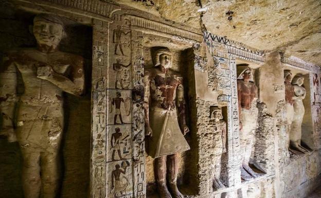 Descubierta en Egipto una tumba de más de 4.400 años de antigüedad