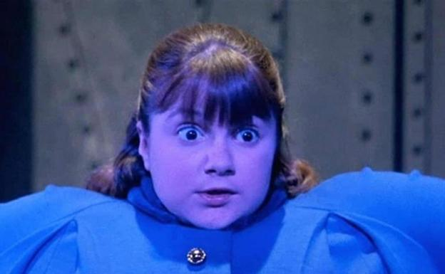 Murió Denise Nickerson, actriz de Willy Wonka y la Fábrica de Chocolates