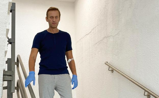 Hallan restos de Novichok en habitación donde se hospedó Navalny