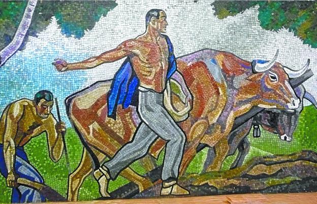 El Museo San Telmo expondrá un mosaico monumental de Aurelio ...