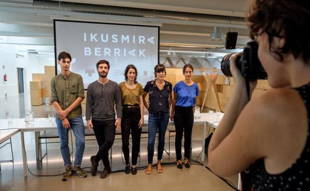 Ikusmira Berriak ofrece a cinco cineastas un impulso a sus proyectos de cine | El Diario Vasco
