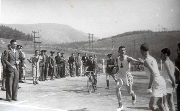 Imagen de una de las ediciones en las que la BSS se corrió por relevos.