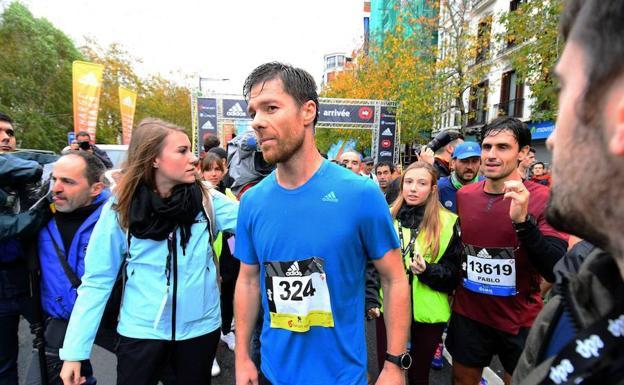 Behobia - San Sebastián 2018  Xabi Alonso volverá a correr  87694c85a865e