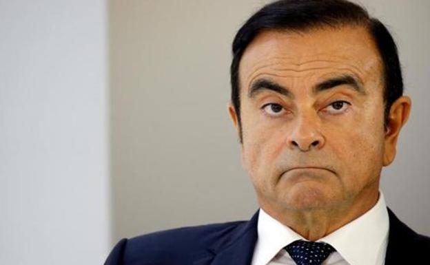 Carlos Ghosn, presidente 'temporal' de Renault. /Reuters