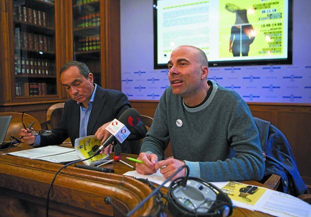 Miguel Ángel Páez y Carlos Sánchez. /F. DE LA HERA
