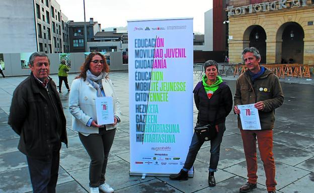 Agustín González, Mónica Martínez, Espe López y Jon Etxeberria. / F. DE LA HERA