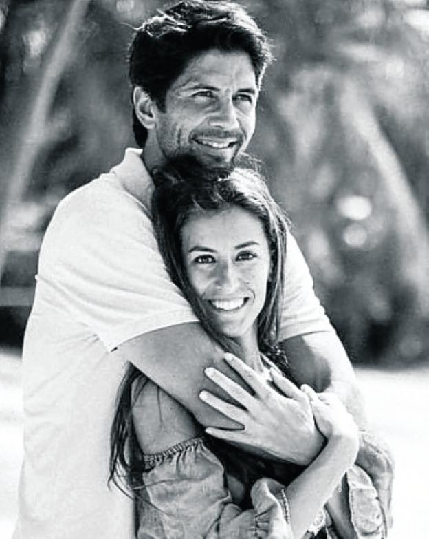 Verdasco y Ana Boyer. /