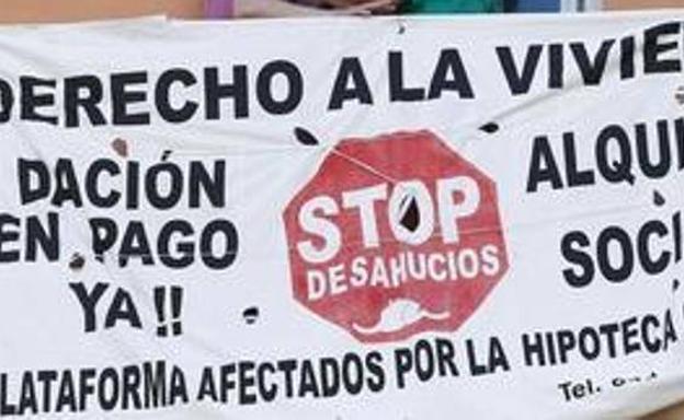 Stop Desahucios denuncia que una familia con personas dependientes «se quedará en la calle» por «incompetencia» municipal