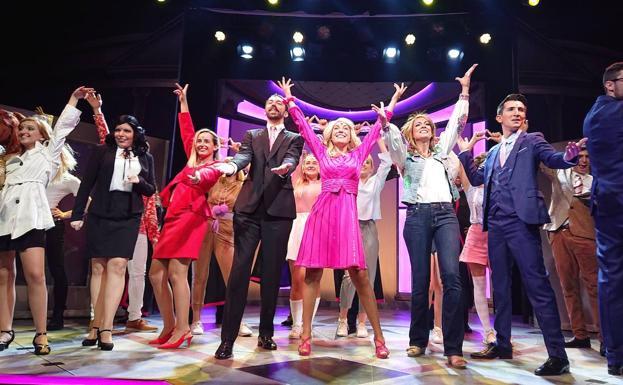 Un momento del actual espectáculo 'Legally Blonde', que se ofrece hasta el domingo 24 de noviembre./