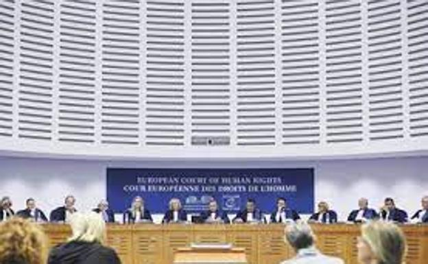 The Grand Chamber of the European Court of Human Rights (File image)