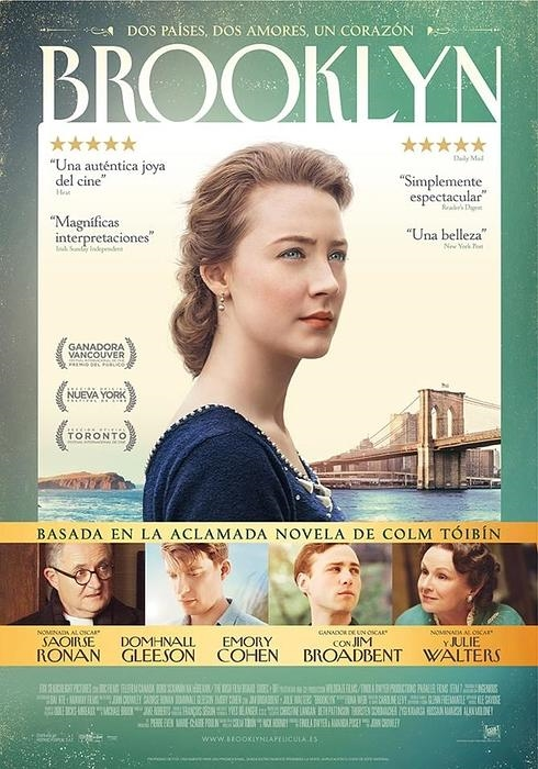 Cartel de 'Brooklyn'. /