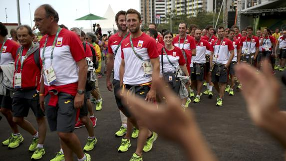 11f527167 Equipo olímpico español