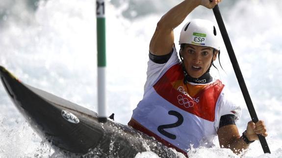 Maialen Chourraut, a semifinales in extremis | El Diario Vasco