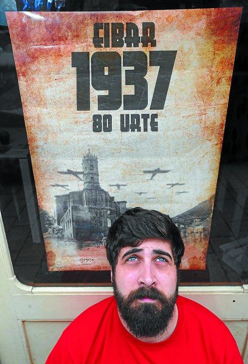 Andoni Zabala (Autor del cartel 80 aniversario del bombardeo